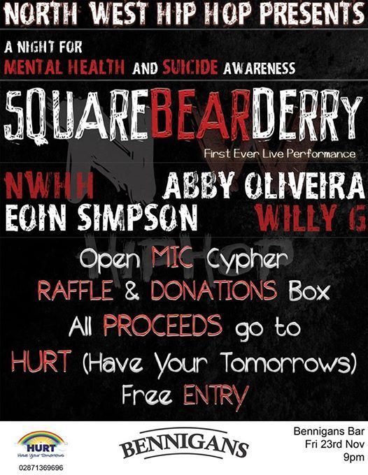 NWHH Presents A Night for Mental Health Awareness Bennigans