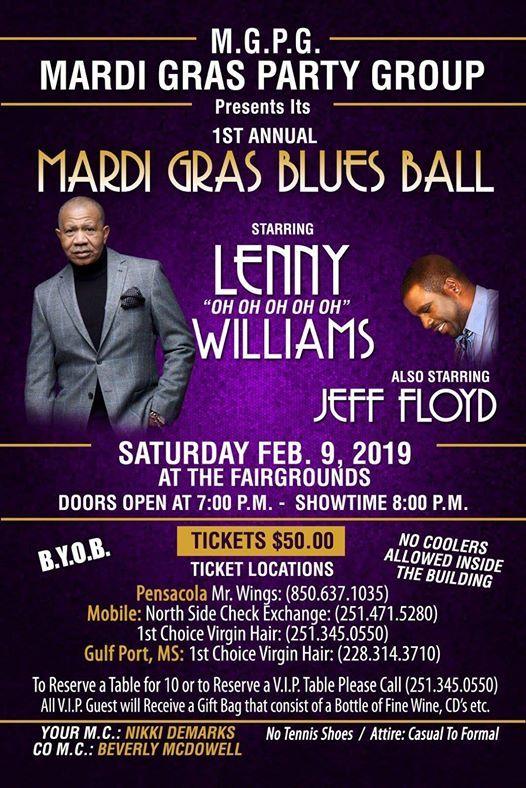 Mardi Gras Blues Ball