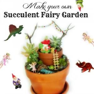 Cairns School Holiday Workshops - Make a Succulent Fairy Garden