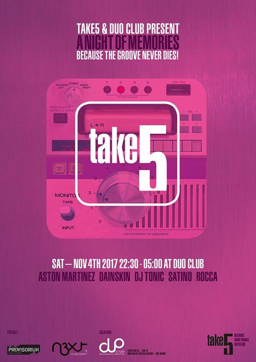 TAKE5 - A Night of Memories 2017