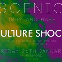 Scenic Presents Drum &amp Bass in 54 Ft. Culture Shock