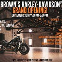 Browns Harley-Davidson Grand Opening
