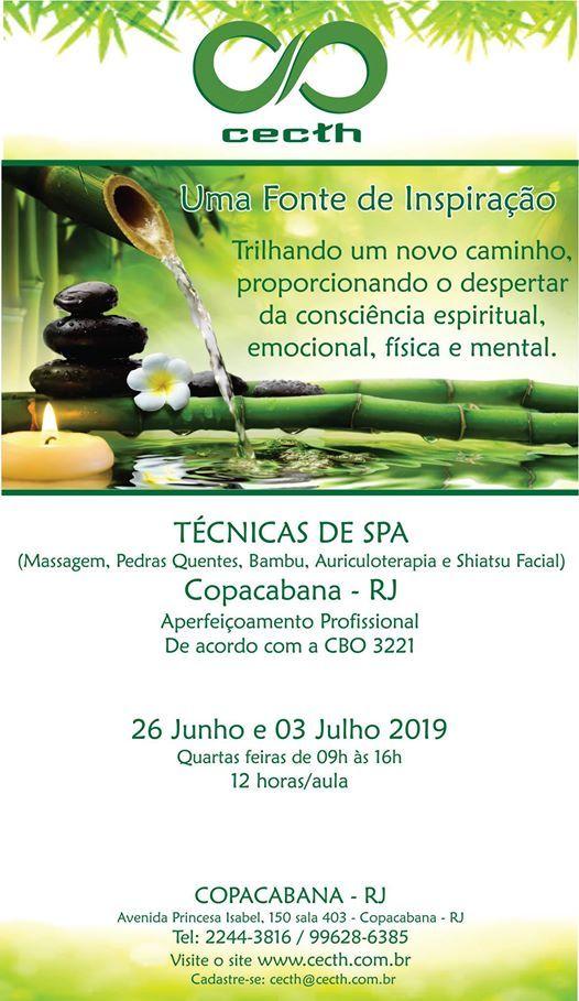 Curso Tcnicas de SPA - Copacabana RJ