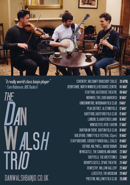Dan Walsh at Chebsey Parish Hall Staffordshire