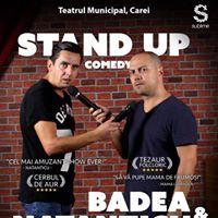 Two Men Show. Stand Up cu Badea &amp Natanticu