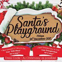 Santas Playground Christmas Party