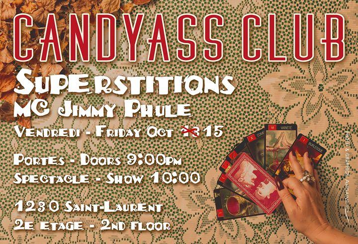 Superstitions Candyass Cabaret Oct 20
