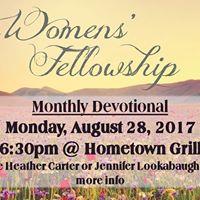 Womens Fellowship Monthly Devotional