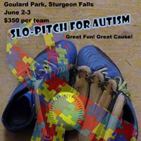 Slo-pitch For Autism Sturgeon Falls