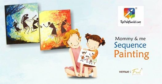 Mommy & Me Sequence Painting  Surat