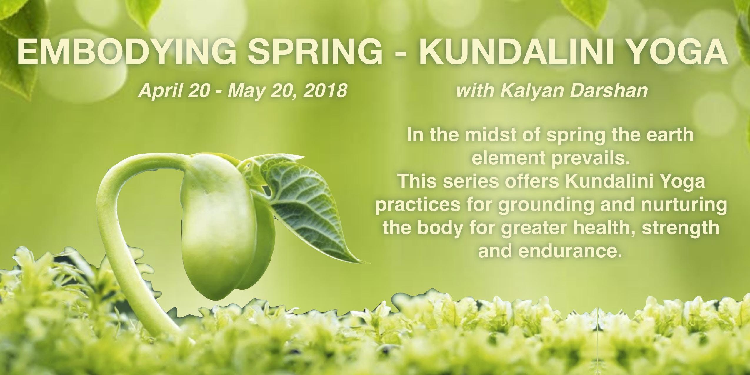 Embodying Spring - Kundalini Yoga for Self-Care and Grounding