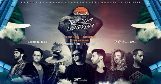 Warung Tour Londrina 2019
