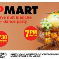 K&ampP Mart Nuit Blanche Installation  Dance Party