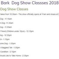 Lydiard Bark Dog Show 2018