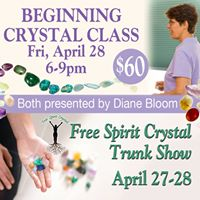 Beginning Crystal Healing Class with Diane Bloom