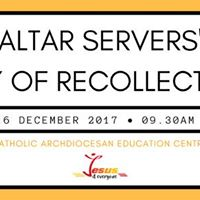 Altar Servers Day of Recollection