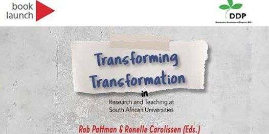BOOK LAUNCH TRANSFORMING TRANSFORMATION IN RESEARCH
