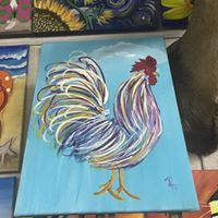 Wine &amp Whimsy Rooster