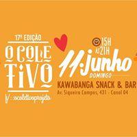 O Coletivo - feira de criativos - 11 de junho no Kawabanga Bar