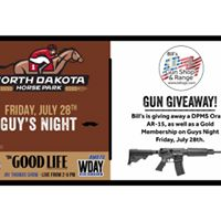 Guys Night- presented by Bills Gun Shop &amp Range