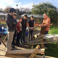 Wrekin Rocks- Cleft Oak fence making course
