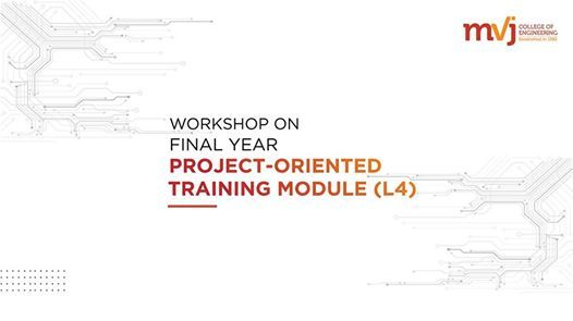 7-day workshop Final Year Project-Oriented Training Module (L4)