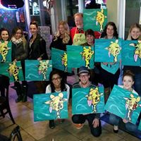 PAINT Night&quot Resumes Mon.JAN.16 at 7 PM at Creekside BAR &amp GRILL