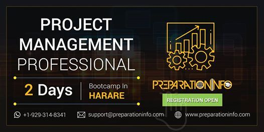 PMP Exam Prep Classroom Training and Certification in Harare 2 Days