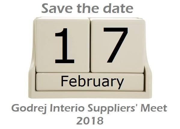 Godrej Interio Suppliers Meet 2018