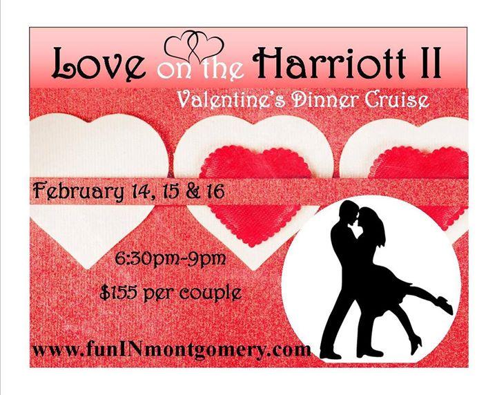 Love on the Harriott II Valentines Dinner Cruise at Harriott II ...