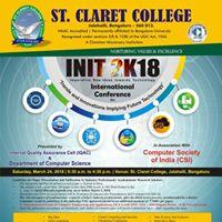 INIT 2K18 - International Conference