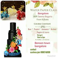 Wafer Paper Class By Seema Bagaria