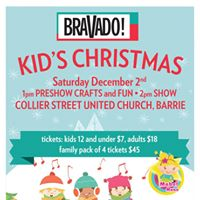 Bravado Kids Christmas Matinee