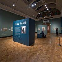 Paul Nash exhibition tour