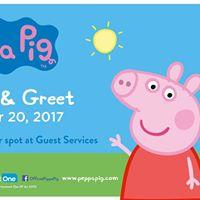 Peppa Pig Meet &amp Greet