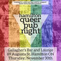 November Queer Pub Night