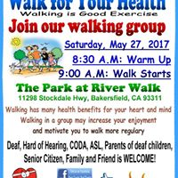 Walk for your Health at River Walk