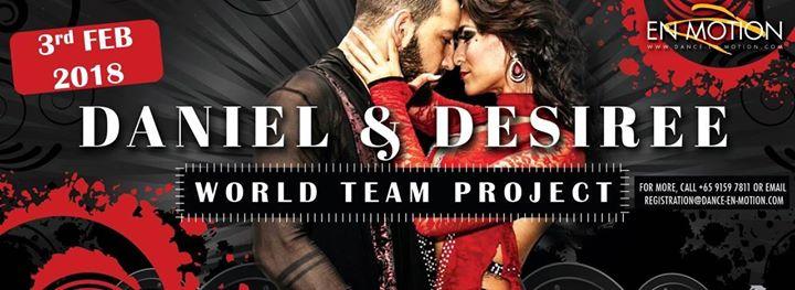 Daniel & Desiree World Team  Singapore