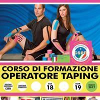 Corso Operatore Taping