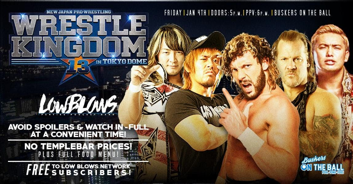 Wrestle Kingdom 13  Buskers OTB