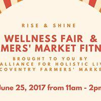 Coventry Farmers Market Wellness Fair