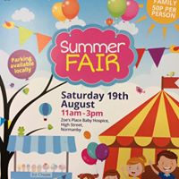 Summer Fair at Zoes Place Baby Hospice