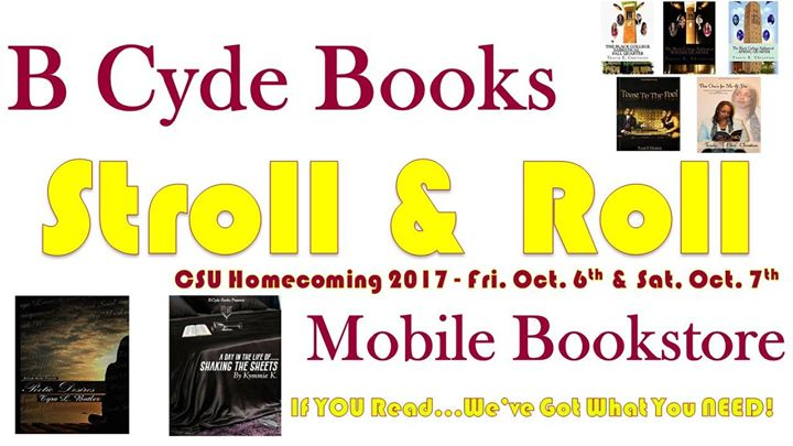 B Cyde Books Stroll Roll Mobile Bookstore At Central State