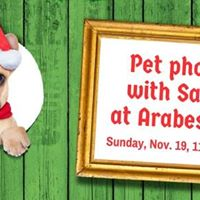 Pet Photos with Santa (a Claus for Paws benefit)