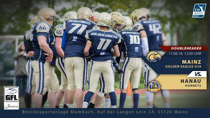 Doubleheader (Spiel 1) MGE U19 vs Hanau Hornets U19