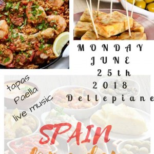 Spain for a Day. Paella and Live music