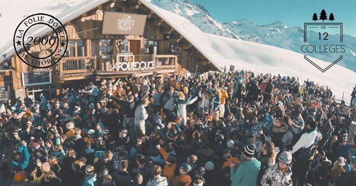 Les 12 Colleges By Smash X La Folie Douce At La Folie Douce Val