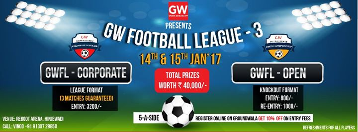 GW Football League-3 Pune