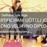 Sadhana teaj za uitelja joge 1 (CYT300)