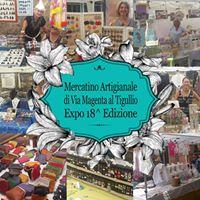 Mercatino Artigianale Di Via Magenta Al Tigullio Expo 18 Edizione Rapallo